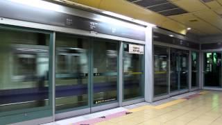 [FHD]ソウル 5号線 馬場駅 上一洞行 5000系 発車
