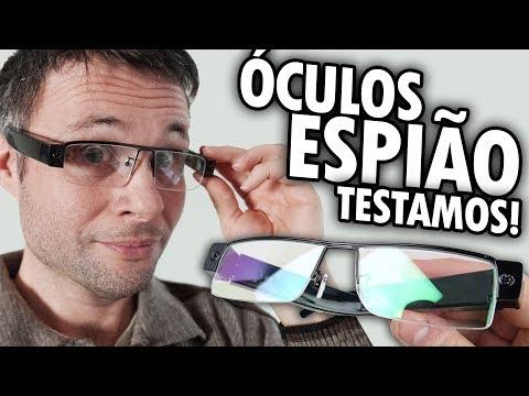 ÓCULOS ESPIÃO UNBOXING E TESTE - Óculos Câmera Eyewear Cam