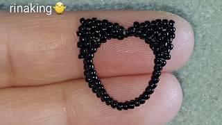비즈반지만들기.seed beads.