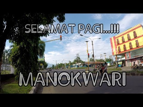 SUASANA KOTA MANOKWARI DI MINGGU PAGI, SEPI...!!!! (Papua Vlog-049)
