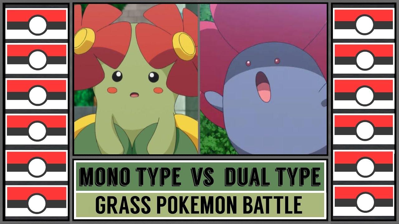 Grass Type Battle: MONO vs DUAL TYPE!