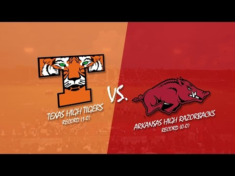 Texas High vs Arkansas High 2015 (KLFI TV Full Broadcast)