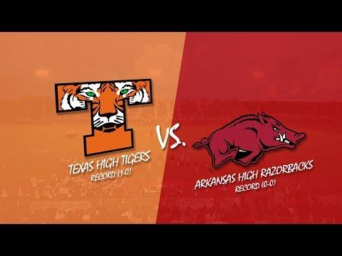 Texas High vs Arkansas High 2015 (KLFI TV Full Broadcast)