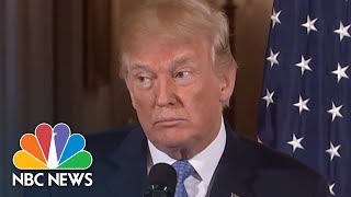 Watch Full Reporters' Questions To President Trump And  Merkel At Joint News Conference | NBC News