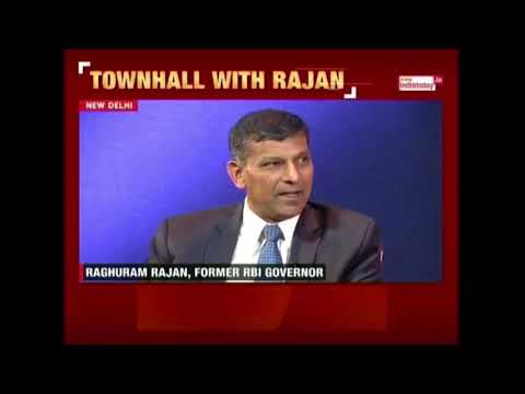 Townhall With Rajan : Raghuram Rajan Exclusive Interview By Rajdeep Sardesai