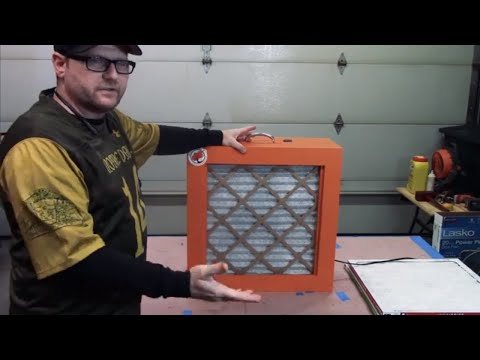 DIY Shop Box Fan Air Filter Build