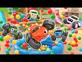 Learn Colors play | Compilation 30min #4 Kids Songs Educational for Kids Tomoncar World  토몬카