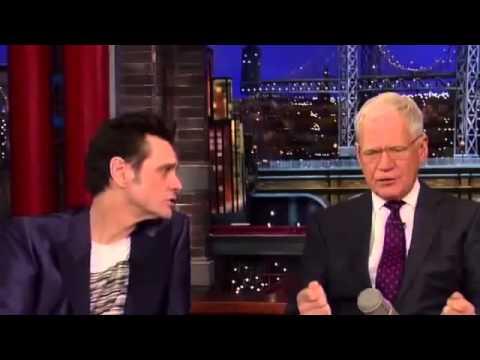 Jim Carrey on David Letterman Full Interview