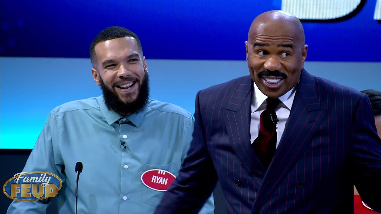 He is a BIG man! BUT ALL credibility LOST with the nickname POOPIE POOPIE | Family Feud South Africa