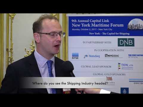 2017 9th Annual New York Maritime Forum - Mr. James Frew Interview