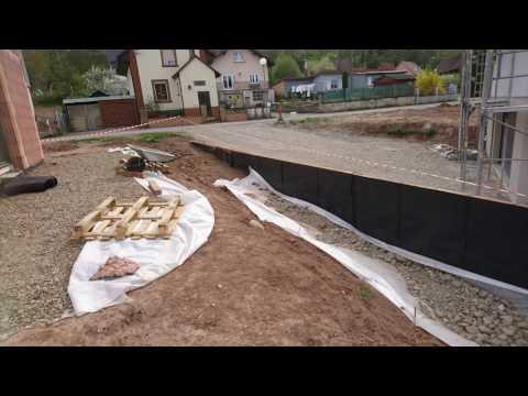 Retenue De Terre En Bois Autoclave Construction Youtube