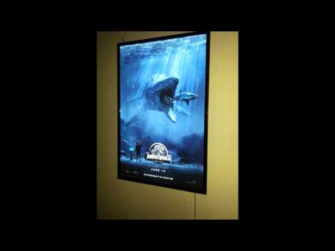 Light Box Led Poster Frame Display Cinema Movie Theater