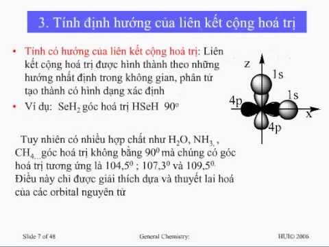 [Bài giảng] Liên kết cộng hóa trị – GV. Nguyễn Thị Mai Hương