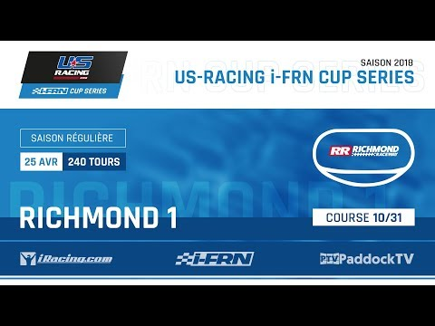 US-Racing i-FRN Cup Series 2018 - Course 10/31 : Richmond