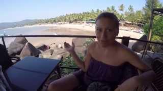 Приехали в Гоа, Арамболь и Агонда, жильё и пляжи | Индия 11(В этом видео мы решили поделиться стоимостью аренды жилья на пляже Агонда в Гоа. А так же показать наше бюдж..., 2014-12-28T06:20:16.000Z)