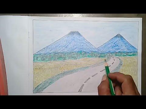Gambar Pemandangan Alam Untuk Kelas 2 Sd