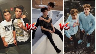 ✨DOLAN VS DOBRE VS MARTINEZ TWINS// WHO'S BETTER ?🤔👯‍♂️