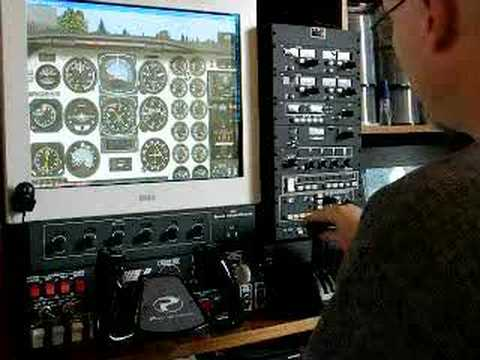 Precision Flight Controls Cirrus II Cat II hardware with FSX