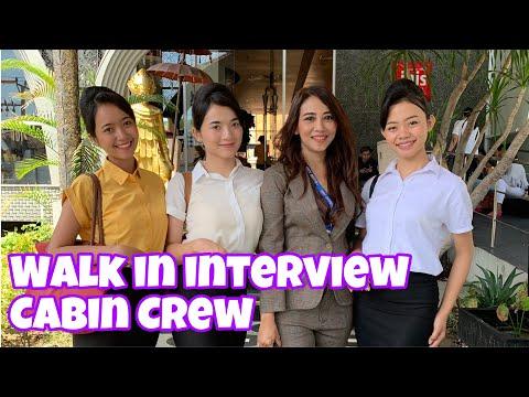 TONTON YUUUK...!! PROSES WALK IN INTERVIEW MASKAPAI NASIONAL DI BALI | Ms. NURUL