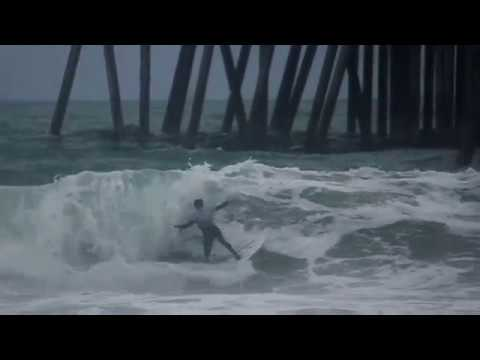 Storm Surfing HB Pier   January 12th   2017 (Raw Cut)