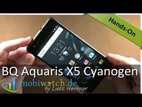 BQ Aquaris X5: Günstiger 5-Zöller mit Cyanogen OS – Video-Test