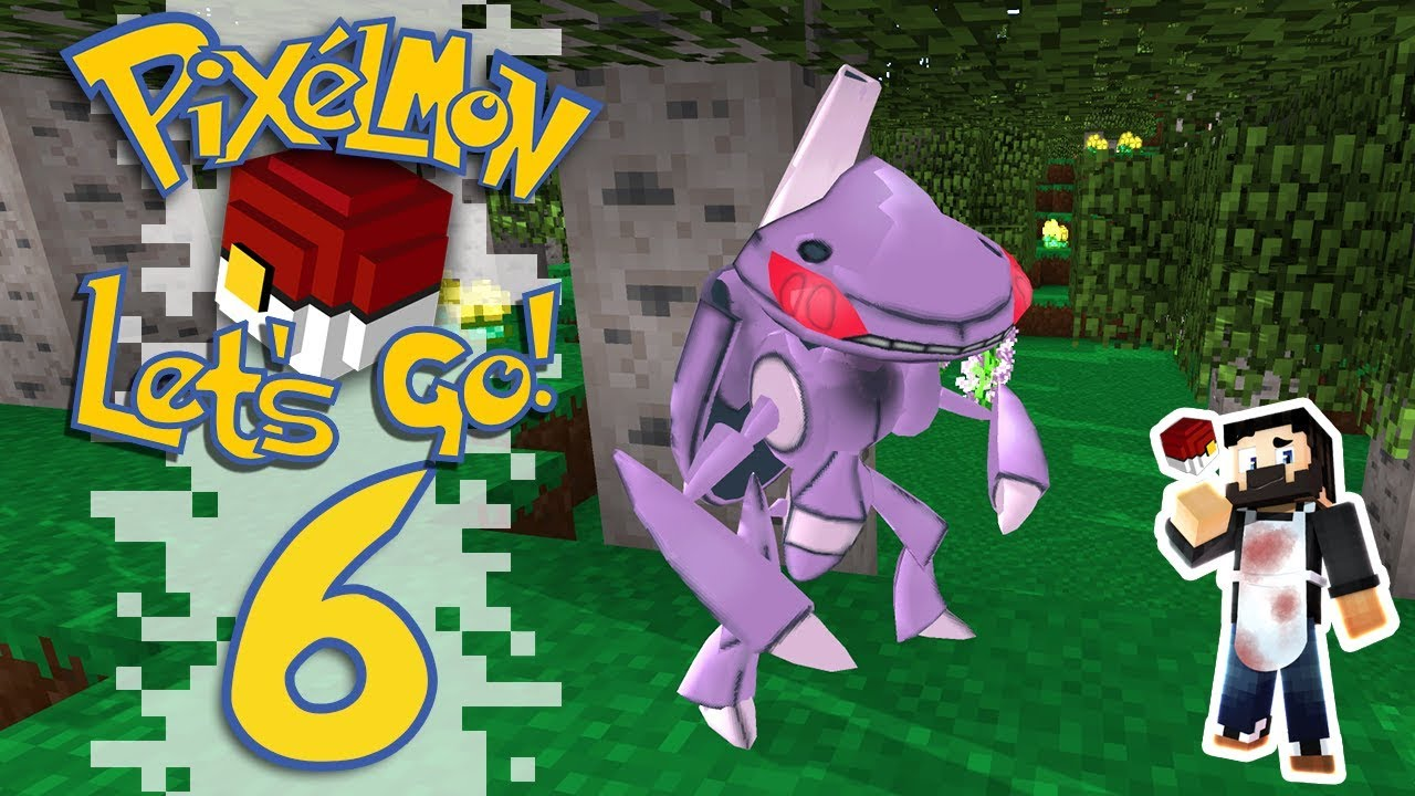 Pixelmon: Let's Go! - EP06 - GROTTOS, SHINY AND LEGENDARY! (Minecraft  Pokemon) #PixelmonLetsGo