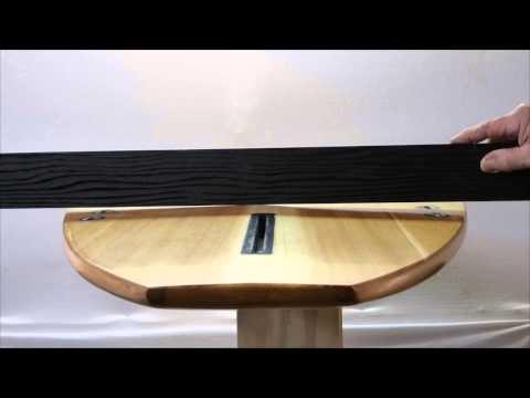 Roundo - Hollow Wooden Surfboard - Pacific Islands Surfboards