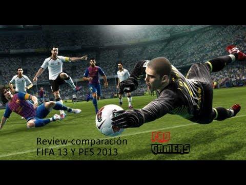 Review-Comparación FIFA 13 y PES 2013