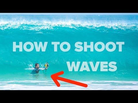 VLOG #1 How To Shoot Waves - Landscape Photography (DSLR vs GoPro)
