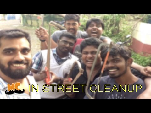 Vardah Effect - MC Team Street Clean Up | Vlog | Madras Central