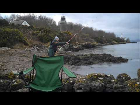 Fishing The Tay Estuary, Tayport 16 02 18