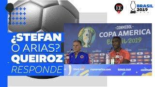 ¿Stefan Medina o Santiago Arias? Queiroz responde | Copa América 2019| El Espectador