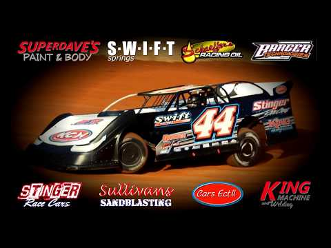 Chase King #44 In Car Camera @ 411 Motor Speedway May 19, 2018