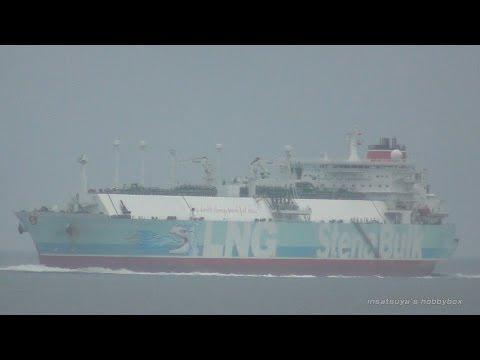 STENA CLEAR SKY LNG タンカー ドラゴンのイラストがかっこいい!! LNG TANKER SHIP