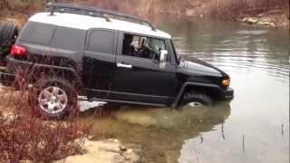 2007 Fj Cruiser Getting water over hood!