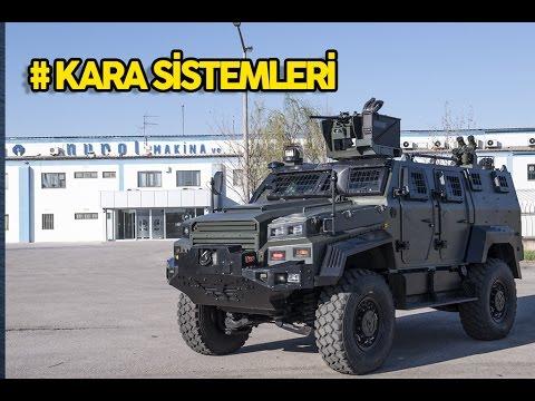 Türk Savunma Sanayi # Kara Araçları