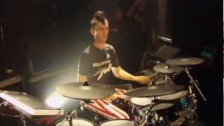 #10 JP Bouvet from United States (2nd Place); V-Drums World Championship 2012