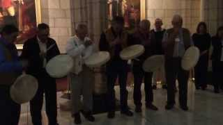 Drum Prayer Song with the Deline First Nations community following the passing of Bill C-63