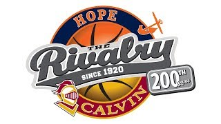 Hope College v. Calvin College - NCAA D3 Men's Basketball
