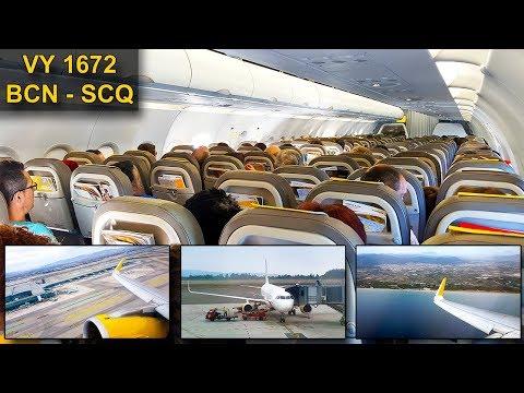 TRIP REPORT | Vueling Airlines | BARCELONA - SANTIAGO | A320CEO Sharklets
