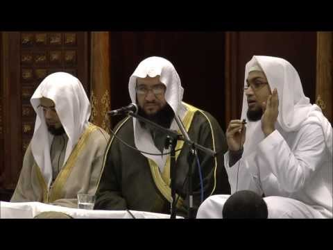 Dr Iyad Shukri (Muedhin of Masjid an-Nabawi) Speech (Arabic) at Masjid Khadijah Peterborough
