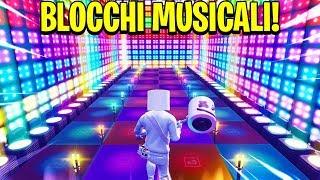Le MIGLIORI CANZONI fatte con i BLOCCHI MUSICALI di FORTNITE!