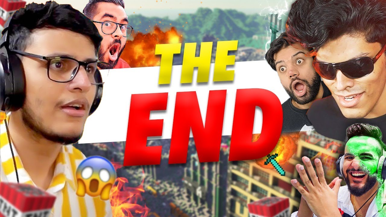 End of Avengers SMP?? [Minecraft] ft. @Ducky Bhai  @Mythpat