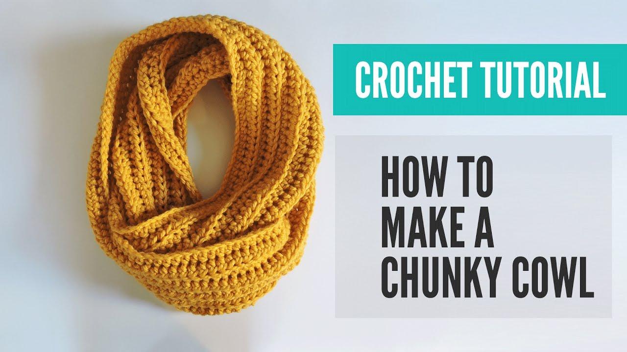 Crochet Chunky Cowl Pattern Crochet Cowl Pattern Crochet Scarf