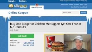 How to find printable restaurant coupons online(http://www.clipdeals.com People are so busy today that it's always nice to eat out at a restaurant and save yourself the time and hassle of preparing food and ..., 2013-01-27T02:54:46.000Z)