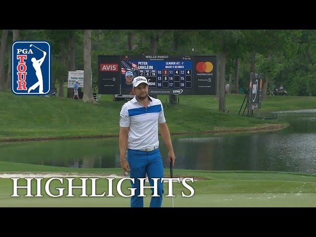 Peter Uihlein's Highlights | Round 3 | Wells Fargo