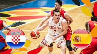 Croatia v Spain - Full Game - FIBA U20 European Championship 2018