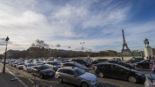 París, sin coches con matrícula par para reducir la polución