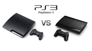 PlayStation 3 Slim vs PlayStation 3 Super Slim