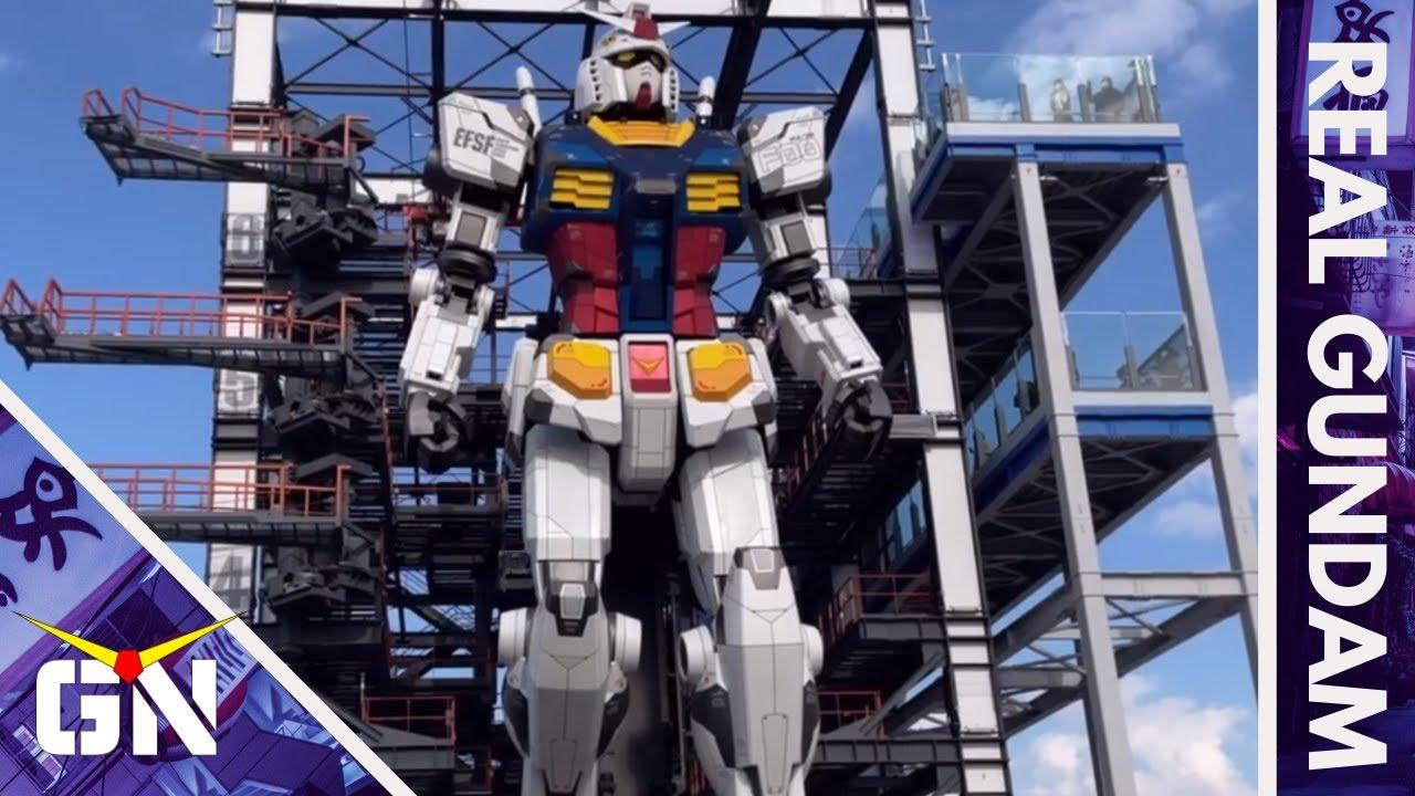 The Real Moving Gundam At Gundam Factory Yokohama